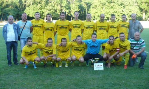 Barážové stretnutie TJ Veľké Trakany – FK Zemplínska Teplica (Slavoj Trebišov, 14.07.2014)