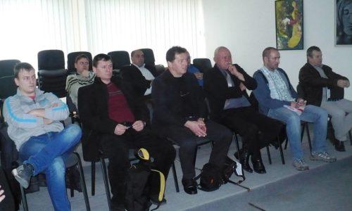 Seminár rozhodcov a delegátov ObFZ Trebišov 12.3.2016