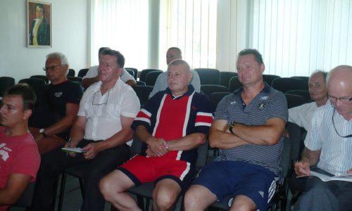 Seminár rozhodcov a delegátov ObFZ Trebišov 6.8.2016