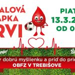 Futbalová kvapka krvi 2020 – ODLOŽENÉ NA NEURČITO