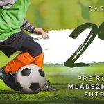 Podporte mládežnícky futbal a darujte 2 percentá z dane za minulý rok ObFZ Trebišov